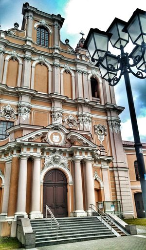 Building Exterior Architecture Built Structure Travel Destinations Low Angle View Outdoors No People Day Sky Lithuania Lithuania-Vilnius City <3 Lietuva Litwa