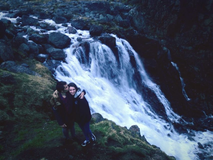 Wonderful Place Nuture Teriberka Murmansk Edge Of The World Russian Barents Sea Followme With My Boyfriend <3 Photo Waterfall Gopro Hero3 Sea And Sky Beautiful EyeEm