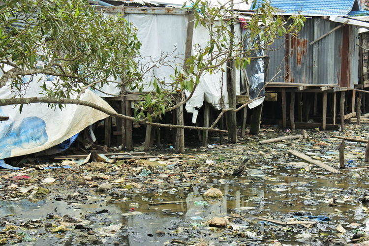 River of trash