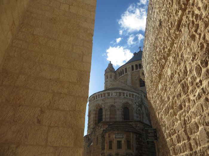 Architecture Building Exterior Built Structure Christianity Churches Collection Churches In Jerusalem Day Low Angle View No People Outdoors Sky Spirituality Travel Destinations Tree