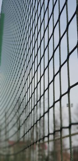 Prison Soccer Field Net - Sports Equipment Protection Sport Beach Volleyball Sky Close-up Architecture 17.62°