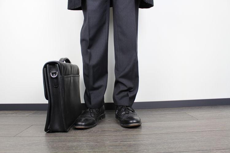 An image of a business man with a suitcase Bag Boss Business Fashion Legs Man Manhattan Model Passenger Travel