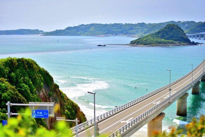 Yamaguchi, Japan Tsunoshima Japan 角島大橋