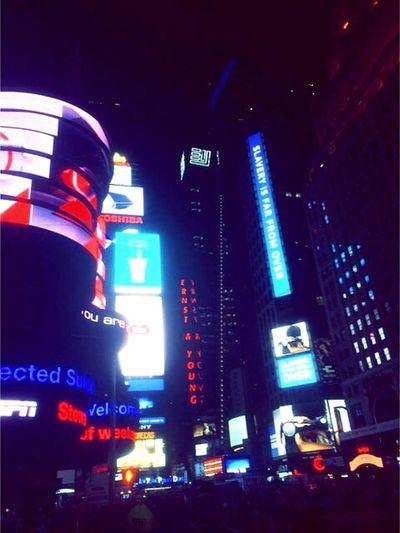 All of the l i g h t s. Times Square NYC NYC New York City Allofthelights Night Nightlife Enjoy Cityneversleeps