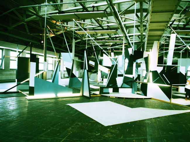 A Architecture Art Installation Indoors  Industrial Light Mirror No People Olympus