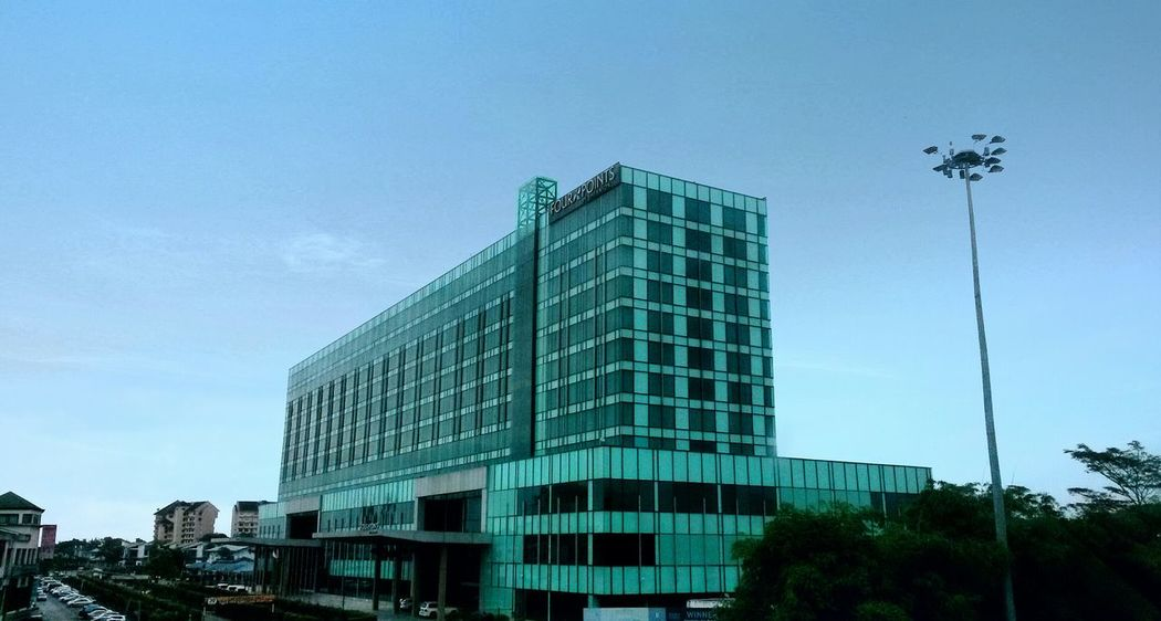 Hello World Architecture Mycity Kuching#borneo#sarawak Four Point Sheraton Hotel... The Place Where I Live