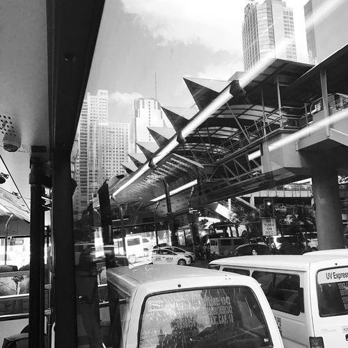 Transportation City Work Traffic Jam Commuterlife AfterShift Homebound P2pbus