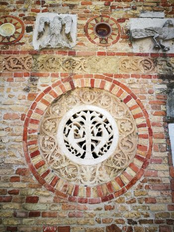 Design Art And Craft Pattern Full Frame Backgrounds History Indoors  Mosaic No People Close-up Architecture Day Concentric