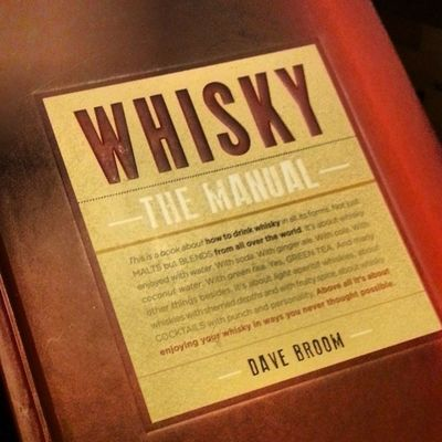 My parents mail me neat things. Whisky Book