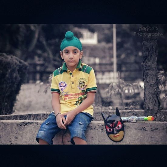 You can learn many things from children. How much patience you have, for instance. Gagans_photography Nephew  Love Instaludhiana Kids Photography