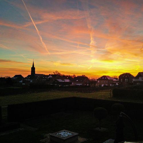 Sky Sunset Colors Evening Evening Sky Photography Belgium Lanaken