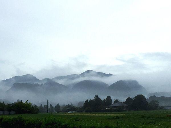 霞 霞 霧 Mist Mountain Morning Fog Foggy Morning Misty Morning Fantastic Japan Sky Sky And Clouds