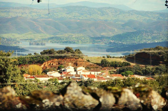 Lil old town. Explore The Mountains Old Town Aracena Huelva
