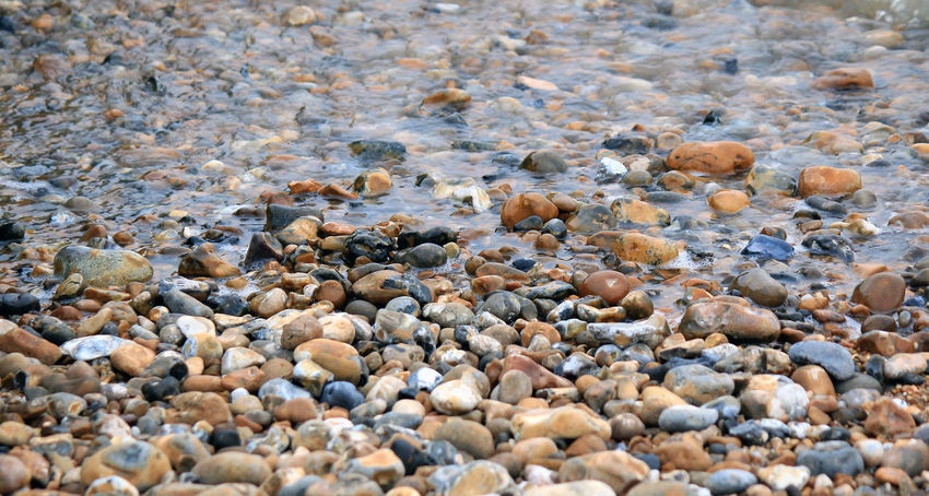 Colors Beach Beauty In Nature Colorful Day Nature No People Outdoors Pebble Pebble Beach Pebbles Pebbles On A Beach Rock - Object Sea Surface Level Water Water's Edge
