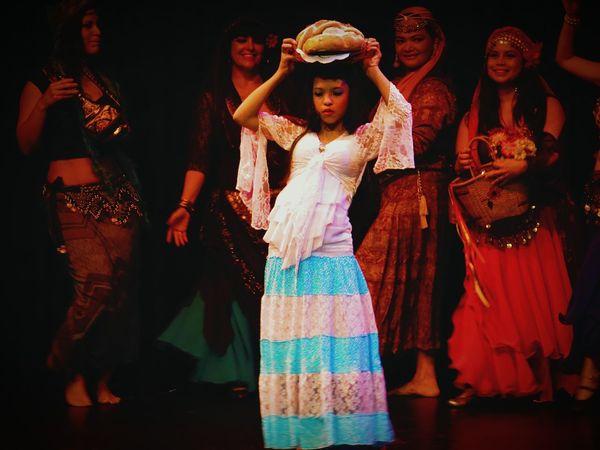 Danza Arabe Bailarina Baile