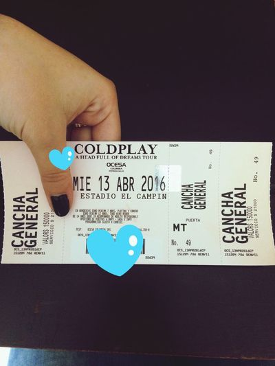 Happy Dream Smile Coldplay Coldplayer Colombia