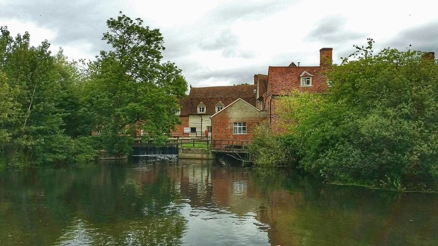 Flatfordmill Water Reflections Architecture Landscape Rural Landscape Flatford Mill Mill Landschaften Landscape_photography Landschaft Landscape_photography Landscapes With WhiteWall