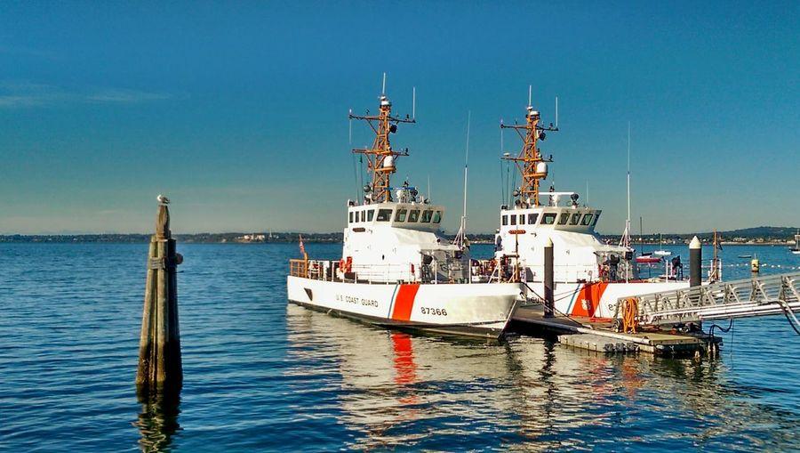 Coast Guard Bellingham, Washington Boats Ocean