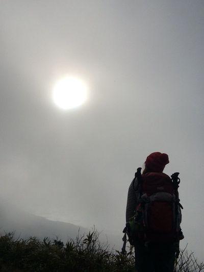 Nature Mountains 磐梯山 見え隠れ