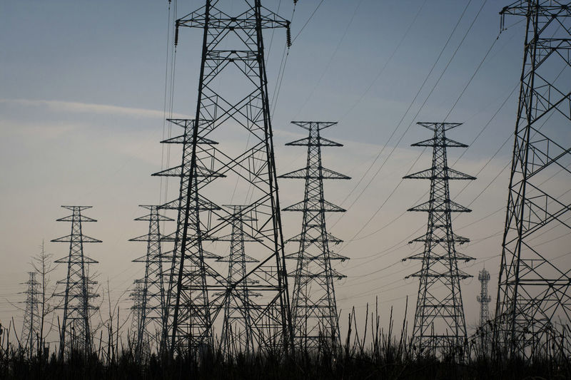 Tree Technology Electricity Pylon Power Station Electricity  Fuel And Power Generation Cable Silhouette Power Supply Business Finance And Industry