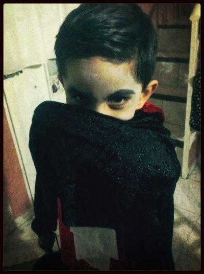 El vampiro!! :P