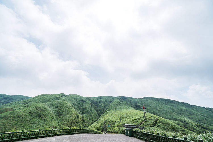 Cloud - Sky Sky Beauty In Nature Scenics - Nature Landscape Environment Green Color Transportation Day Plant Nature Land Tranquil Scene Tranquility Mountain Field Agriculture Growth Rural Scene Non-urban Scene No People Outdoors