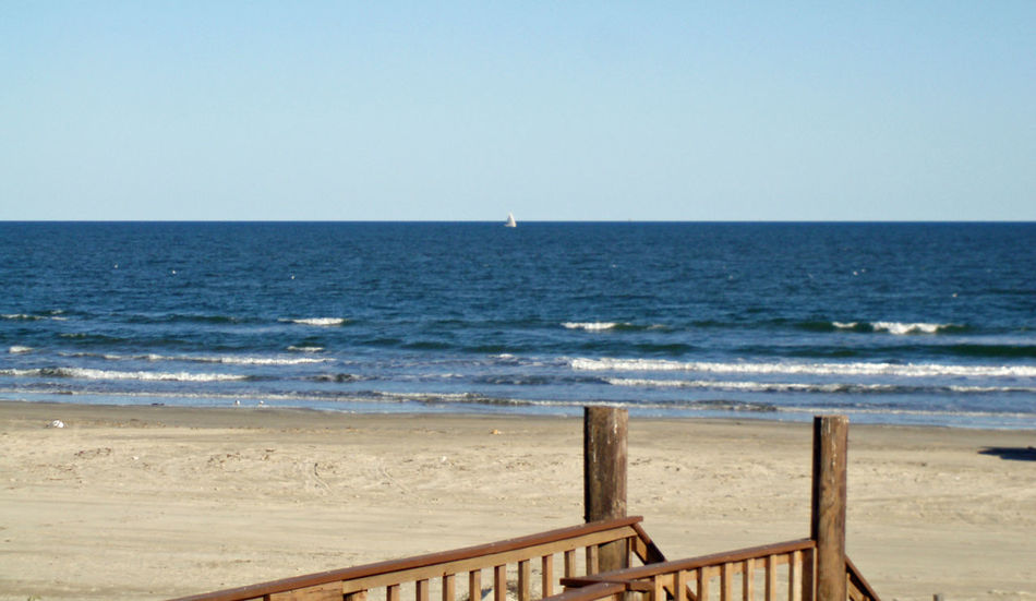 Beach Photography Horizon Over Water No People Sand Sea Surface Level Surfside Beach Texas Wave