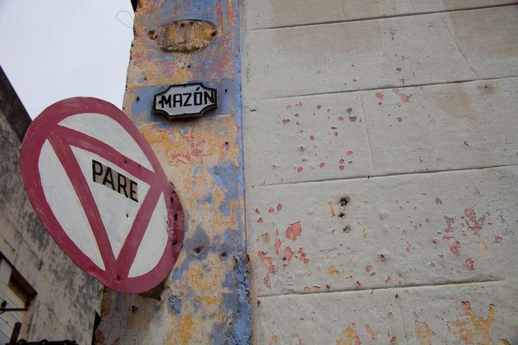 Cuba Faded Beauty Havana Rustiv Street Corner Vintage Signs