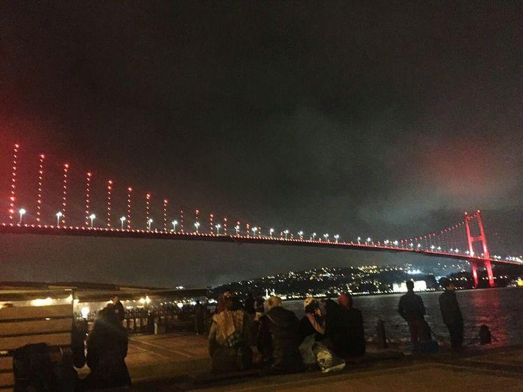 İSTANBUL ❤ Night Bridge City Turkey