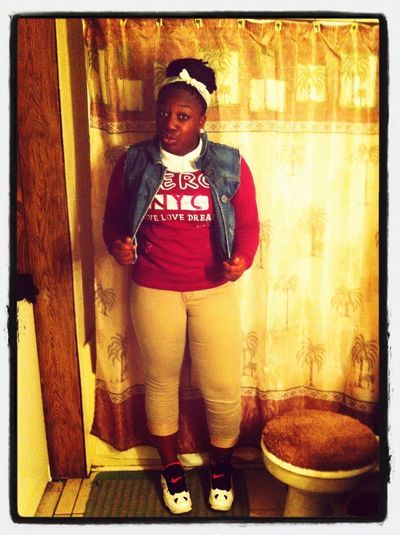Me This Morning For School!!!!