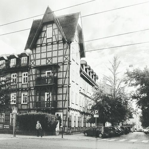 Wilda Oldhouse Bakery Sw.czeslawa Poznań Poland Black & White LookingGood
