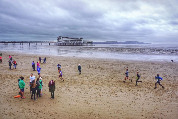 Charity Run Charity Event Funrun Weston-super-mare Westonsupermare Weston Super Mare Pier Pier Seaside Beach Beach Photography Beachphotography