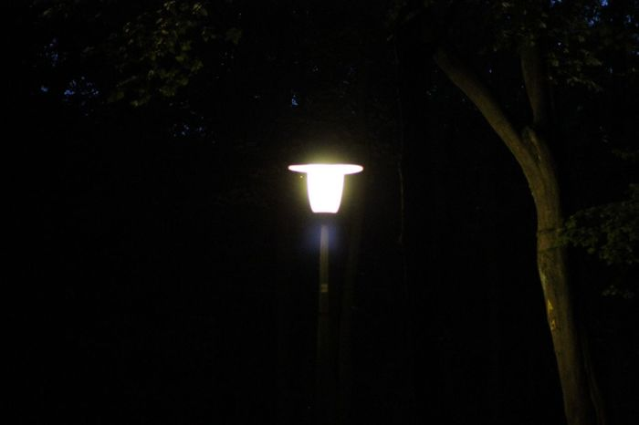 lamp in the dark Darkness And Light