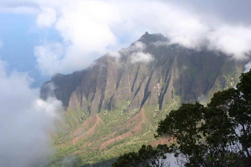 The spectacular view from the top of Puu Hinahina lookout on the island of Kauai in Hawaii Breathtaking Beautiful Hawaii Kauai