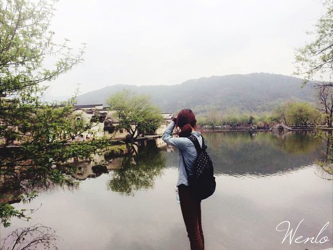 hongcun village,Mount Huang👽👽 Traveling The Human Condition People Photography Myself Water Reflections Ancient Town