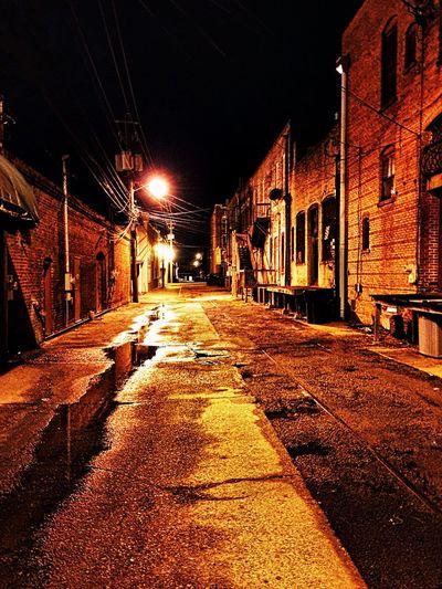 Downtown Tifton,Ga alley m.