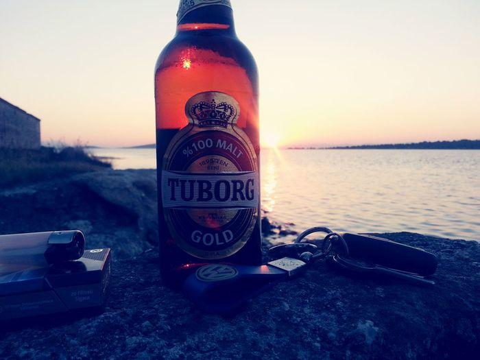 Hello World Ayvalik Sunset Drink Summertime Beer Follow4follow Travelling Followmefollowback Followback