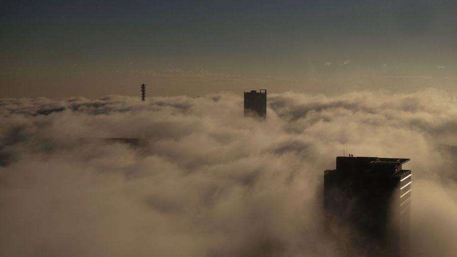 Clouds Clouds And Sky Building Sea Cloud Sea (雲海) Tokyo Shinjuku