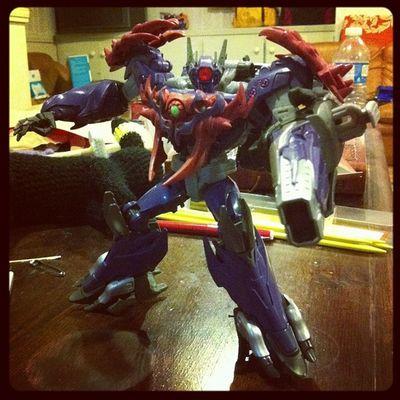 Got a new Transformer to cheer myself up. Meet Shockwave!! Transformers Decepticon Shockwave Transformandriseup