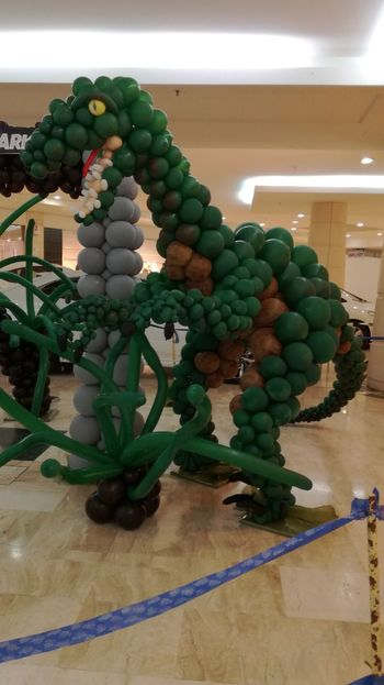 Green Color Indoors  No People Day Balloons🎈 Balloon Art Balloon Fun Balloon Creation Fun Indoors  Balloon Multi Colored Animal Representation