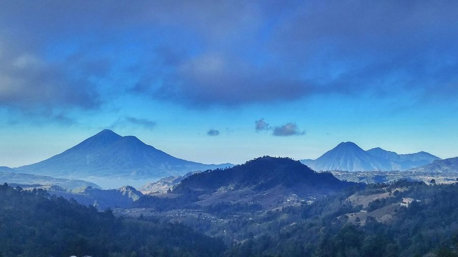 Atitlan.. Hanging Out Enjoying Life Hello World Nature Sky Collection Mountain View Clouds And Sky Landscape