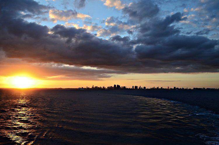 The city by the ocean Miami Cruising Ocean