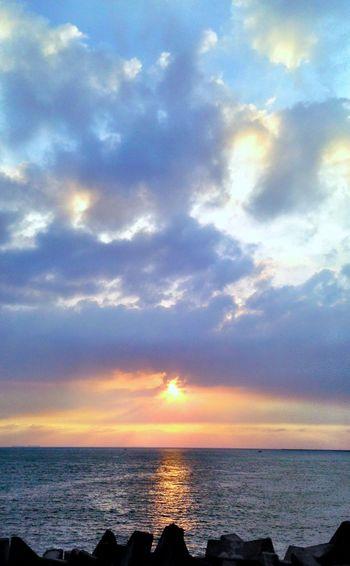 Sunset Seaview