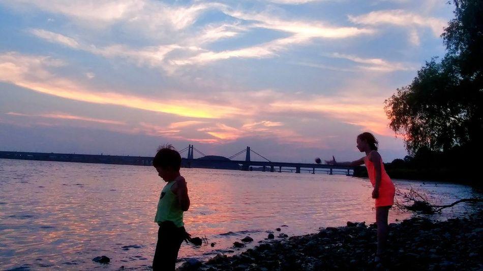 행주대교 Sunset Han River Bridge Enjoying The Veiw