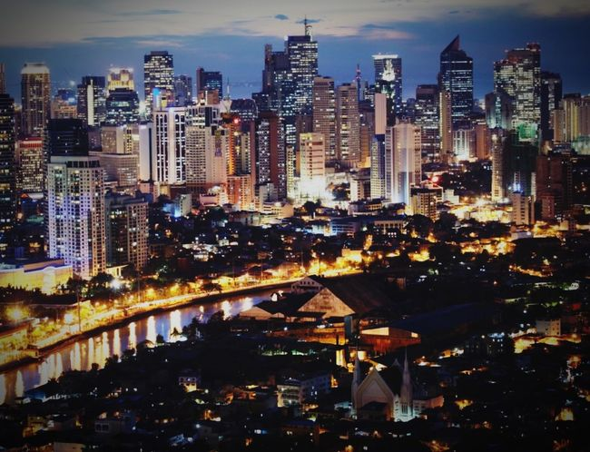 Life in the City of the Phillipines City Lovers 🌆