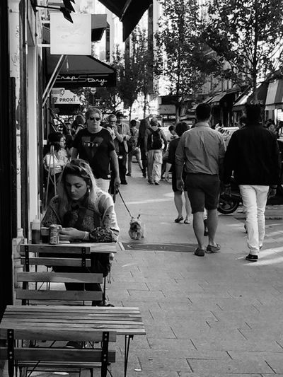 Rue Rambuteau Street Photography French June 2015