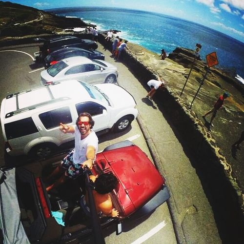Road Trip Amazing View Gopro Hawaii
