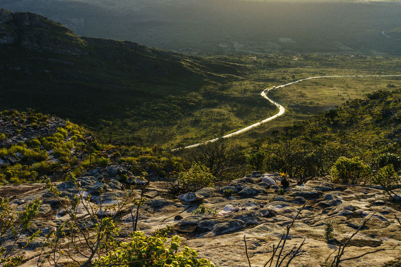 view of the Chapada Diamantina valley from the Pai Inácio Hill Morro Do Pai Inácio Morro Do Pai Inacio Chapada Diamantina! Road Beauty In Nature Landscape Mountain Nature No People Scenics Tranquil Scene Tranquility Travel Destinations Been There. Lost In The Landscape