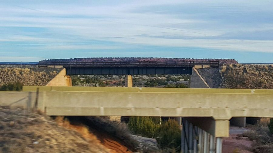Bridges Bridgeporn Railroad Bridge Samsung Galaxy S6 Edge Cellphone Photography Horizon Lines, Shapes And Curves Through The Windshield The World Around Me