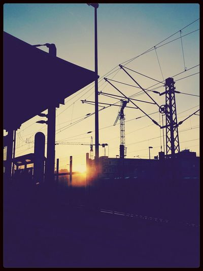 end of the line... Sunset Railway Station My City